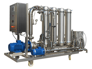 Universal Cross-Flow filter to filteri the wine